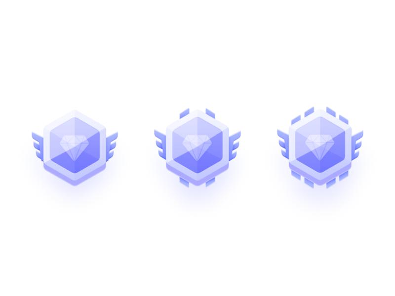 badge logo icon color design illustration ui
