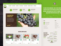 Organic Food Store - Home Page