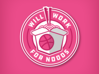 WILL WORK FOR NOODS