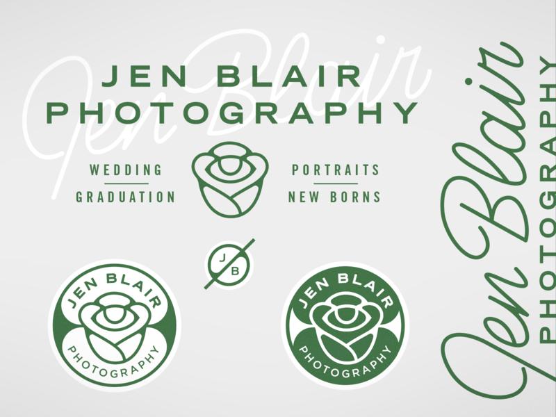 Jen Blair Photography Branding
