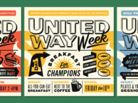United Way Week Posters