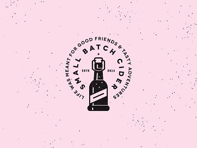 Small Batch Cider Stamp icon stamp cider