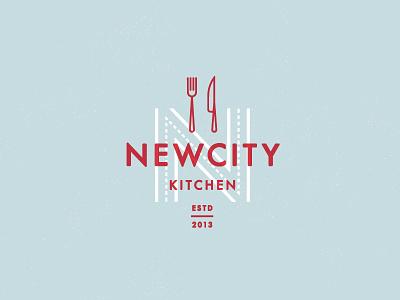 New City Kitchen logo concept logo restaurant
