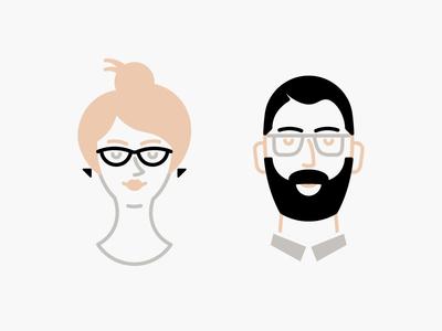 Picnic partner portraits