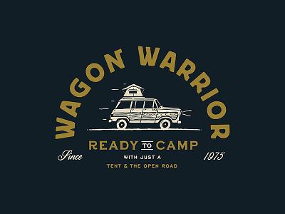 Wagon Warrior 2 jeep vintage graphic tee shirt