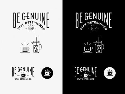 BGSD Logo Concepts Option C icon coffee concept logo