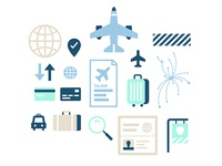 Travel Security Icons