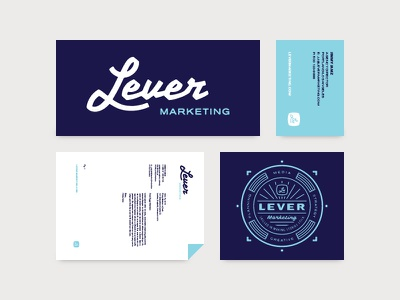 LM Collateral branding collateral print