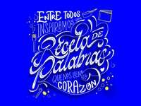 Bancolombia Lettering