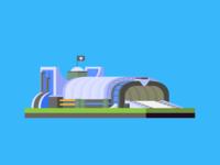 Allied tanker factory