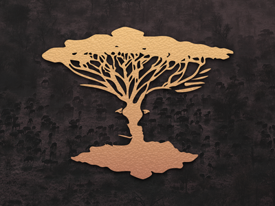 Evolution Tree evolution animals jungle africa indian habitat natural human monkey blend tree primal
