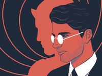 Daredevil style portrait