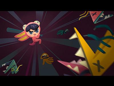 Nightmare combat 1 art concept character design game
