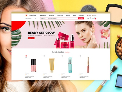 eCommerce Cosmetics Skin Care, Highlighters