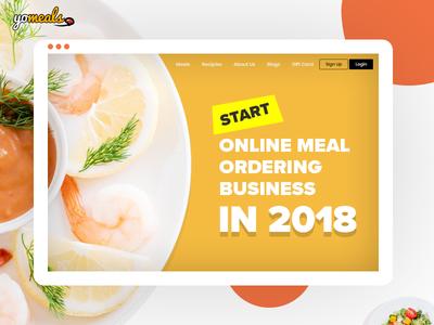 Start Online Meal Ordering Business