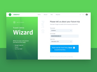 Veeam Corporate portal concept vol.3 webdesign webconcept web veeam uitrends ui kit-uix greendesign designinspiration creative corporate concept