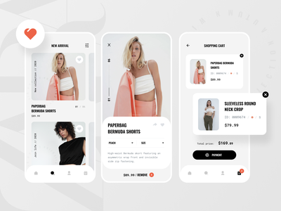 Zara App Concept concept redesign store zara product cart shopping minimalism minimal ecommerce interface ui kit ios uidesign ui app fashion mobile