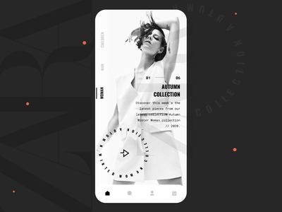 Zara App Concept Interaction minimal zara store ios mobile ui animation interaction fashion mobile ecommerce interface ux ui