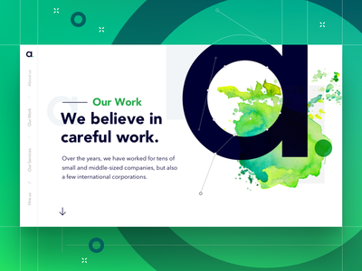 Agency Our Work Landing page