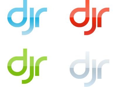 Some logo variants for a DJ