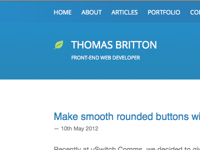 Blog re-design