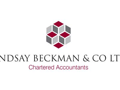 Start of a website for an accountancy firm logo type red grey clean font flat navigation nav