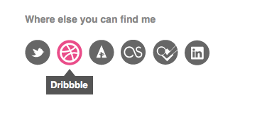 Social icons icons social dribbble twitter forrst last.fm foursqaure linkedin animate gradient