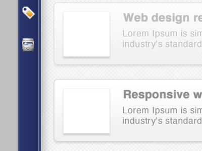 Interface is developing icon blue shadow glow grid bold grey pattern