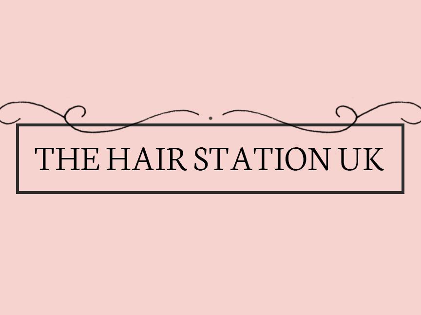 A recent logo design for The Hair Station UK vector type pattern logo design