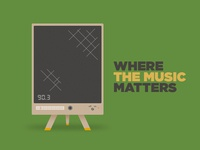 Where the music matters