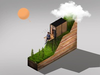 Cabin Isometric View