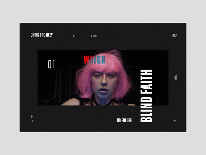 Chris Bromley Portfolio – Live Site