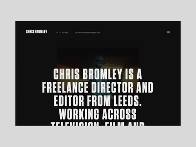 Chris Bromley – About Interaction