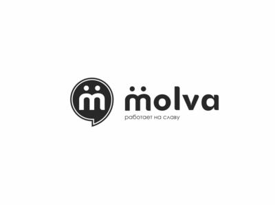 "Концепт логотипа ""Молва"""