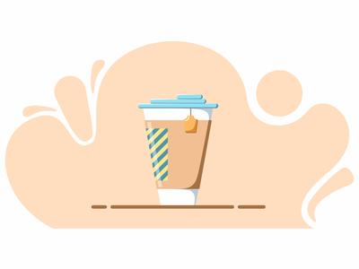 Tea cup illustration