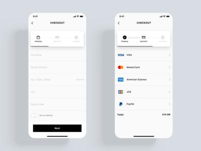 Trendy E-commerce App UI kit