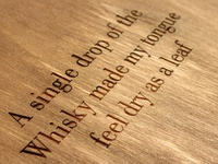 Quote about whisky