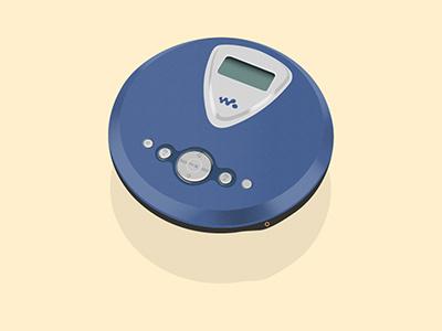 Discman technology old school sony walkman mixtape stereo sound cassette cd music discman