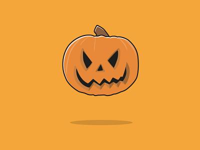 Haloween dead evil modern flat illustrator vector monster ghost scary pumpkin haloween