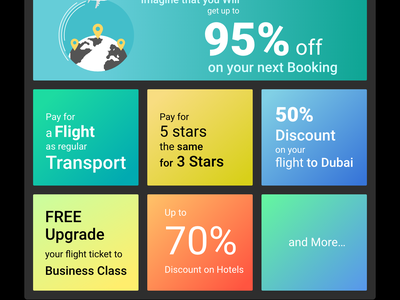 Black Friday Landing page countdown flyin new trendy travel offer page black friday