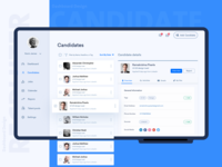 Recruiter Dashboard Design