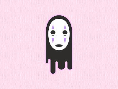 Kaonashi character cartoon miyazaki noface kaonashi
