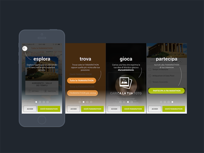 Mobile App   Tutorial flow