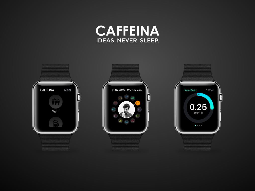 Caffeina app watch 1024