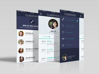 Classpass Mobile UI Concept