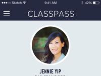 Classpass profile