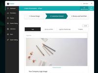 Ai product built on SaaS platform - Screen 2 (Light)
