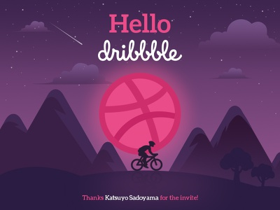 Hello Dribble info graphics graphics