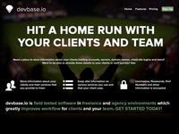 devbase Landing Page
