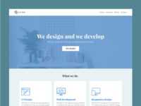 Acme Agency Landing Page